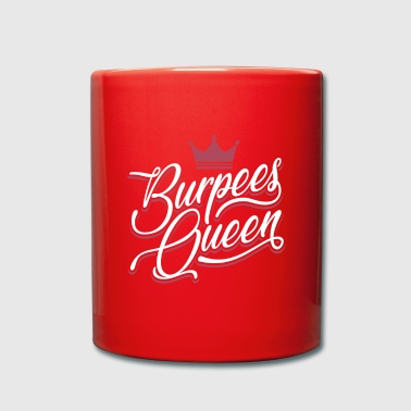Burpees Queen Funny Burpees Shirt - Kubek jednokolorowy