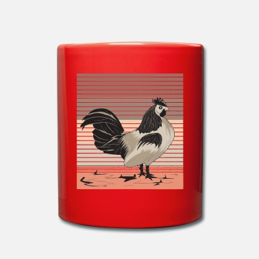 Chicken Coop Hen chicken coop poultry - Full Colour Mug