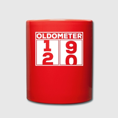 Celebrate Oldometer 20s birthday party party booze celebration - Full Colour Mug
