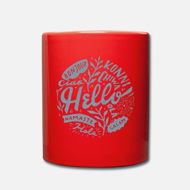 Linguistics Hello sea linguist - Full Colour Mug