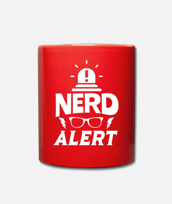 Outsider Mugs & Drinkware - Nerd nerd - Mug red