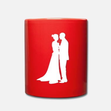 Married Couple Couples in love marry - Full Colour Mug