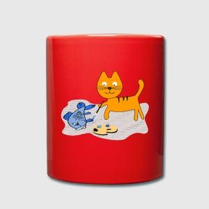 katze mit fisch malen, kind katze fische malt geschenk von watter.bus | spreadshirt, Design ideen
