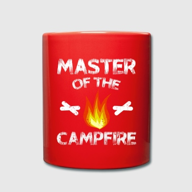 Master of the Campfire - Tasse einfarbig