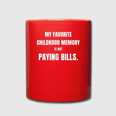 CHILDHOOD REMINDER ENGLISH HUMOR - Full Colour Mug