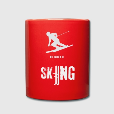 Skiing - Skiing - Skiing - Skiing - Full Colour Mug