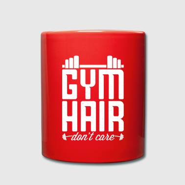 Personal Trainer Gym Hair Do not Care - Full Colour Mug