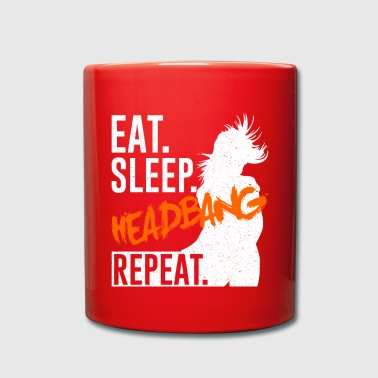 Eat Sleep Headbang Repeat - Musique - Mug uni