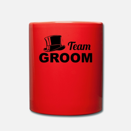 Teamsport Tassen & Becher - TEAM GROOM - Stag Do T Shirt - Tasse Rot