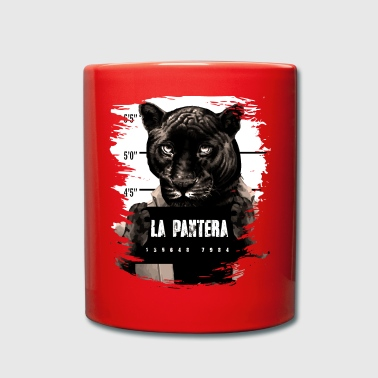 Animal Print Black Panther - Taza de un color