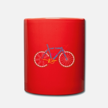 Glass Underwear Bicycle anatomy for bike and cycling lovers - Mug