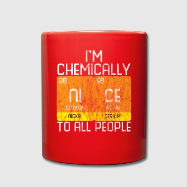 Chemically beautiful chemistry gift - Full Colour Mug