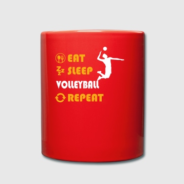 Volleyball - present for men and women - Tasse einfarbig