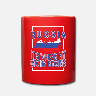 Russisch Russia it's where my story begins - Tasse