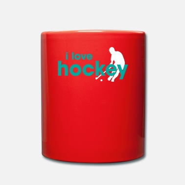 I Love Hockey I Love Hockey - Tasse einfarbig