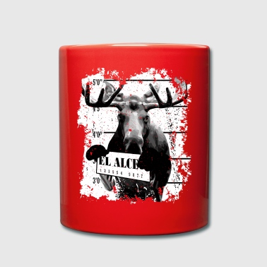 Animal Print Gift - El Alce - Taza de un color