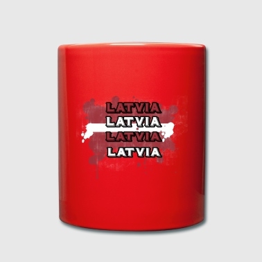 Latvia - Full Colour Mug