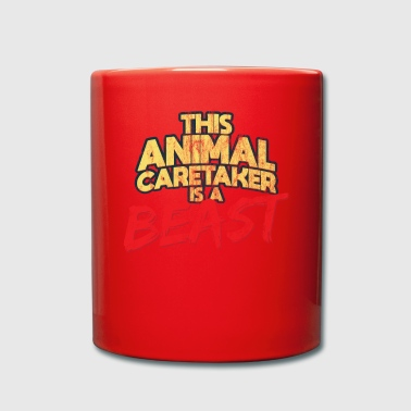 Animal Caretaker Beast Worker Gift - Full Colour Mug