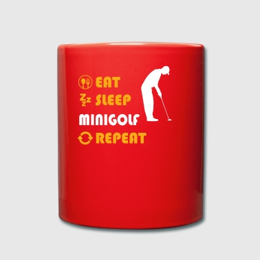 Minigolf - gift for men and women - Tasse einfarbig