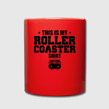 Roller Coaster This is My Roller Coaster Gift - Full Colour Mug