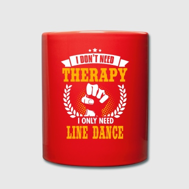 Line Dance - Taza de un color