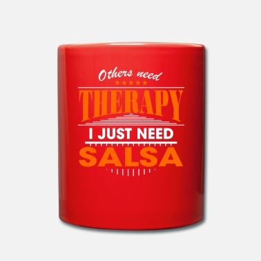 Salsa salsa is mijn therapie - Mok