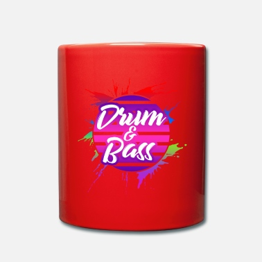 Dnb DnB Drum And Bass - Full Colour Mug