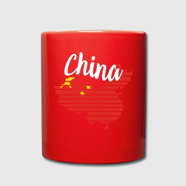 Letra China China - Taza de un color