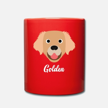 Golden Retriever Golden - Golden Retriever - Tazza monocolore