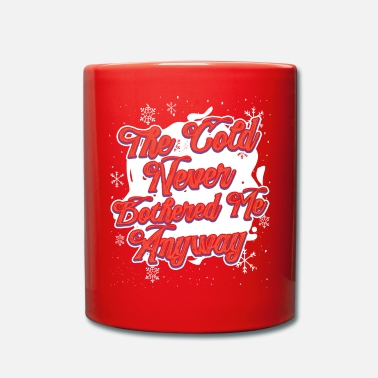 Winter Cold weather winter holiday gift - Mug