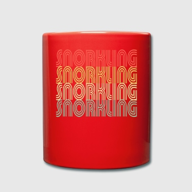 Car Snorkling vintage design - Full Colour Mug