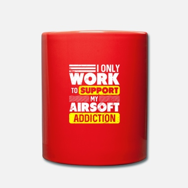 Airsoft Airsoft addict shooting shooter - Mug
