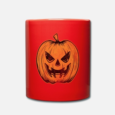 Distress Distressed Jack O Lantern - Mug