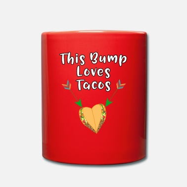 Craving Fries This Baby Bump Loves Tacos Funny Pregnancy - Mug