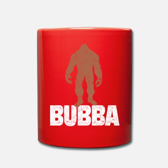 Bigfoot Mugs & Drinkware - Bubba Bigfoot Big Brother NickName - Mug red