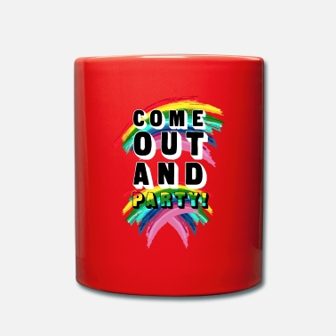Coming Out Come Out And Party! - Mug