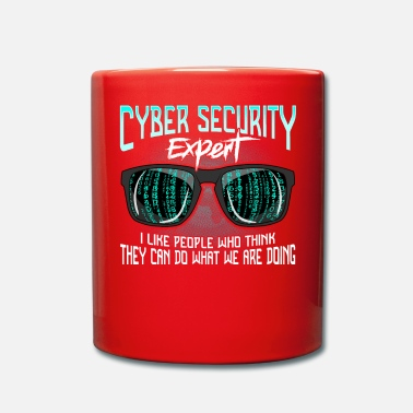 Cybersikkerhed Cyber Security Hackere Hack IT Security Funny - Krus