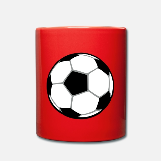 Football Mugs et récipients - Ballon - Mug rouge