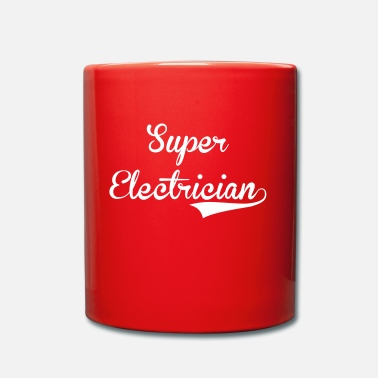 Electricity Electrician / Electricity / Electricien / Electric - Full Colour Mug