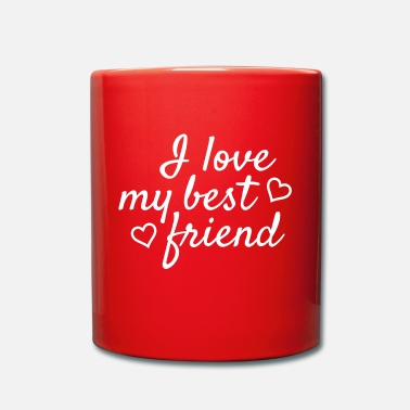 Meilleur Ami I love my best friend - Mug uni