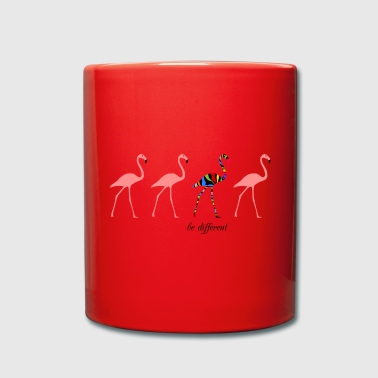 Flamingos - be different - Tasse einfarbig