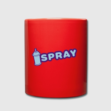 Graffiti spray - Mug uni