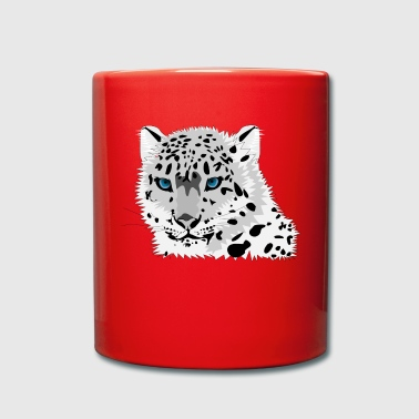 snow leopard - Full Colour Mug