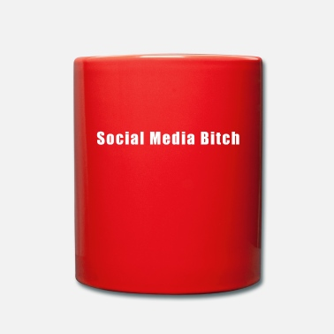 Social Media Social Media Bitch - Tasse