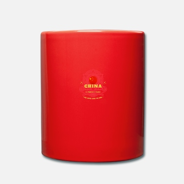 China China - Tasse einfarbig