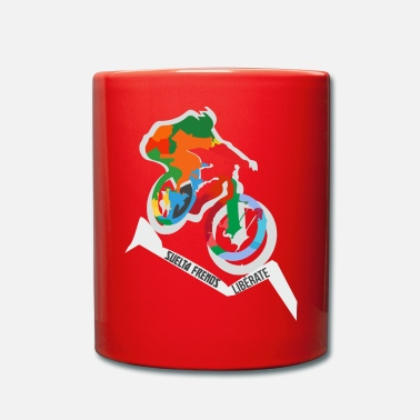 Mountain Bike Mountain bike - Full Colour Mug