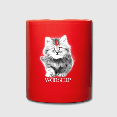 CHAT SATAN WORSHIP BLACK DARK CULT DEVIL METAL KITT - Mug uni