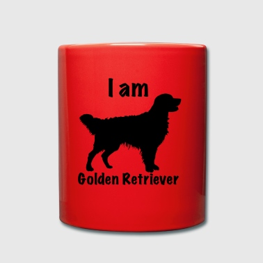 Soy Golden Retriever - Taza de un color