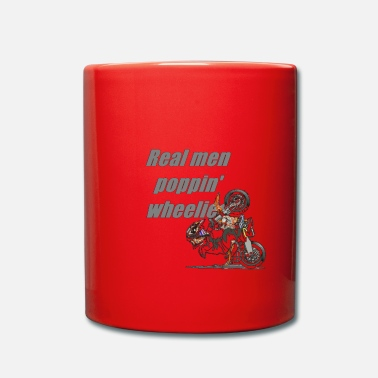 Homme Véritable wheelies poppin homme! (Transparent) - Mug uni