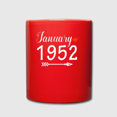 1952 Enero de 1952 - Taza de un color